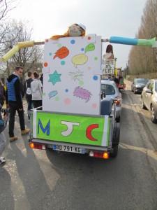 Carnaval 2015 - char de la MJC