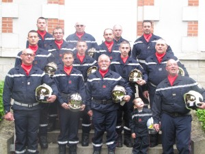 Pompiers d'Outarville 8 mai 2015