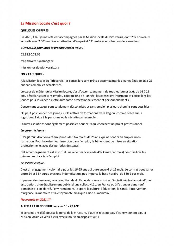 communication Mission Locale du pithiverais et APPI_00001