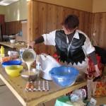 Fabrication et vente de crêpes