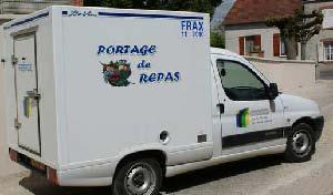 portage camion repas