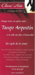 Tango Recto flyers