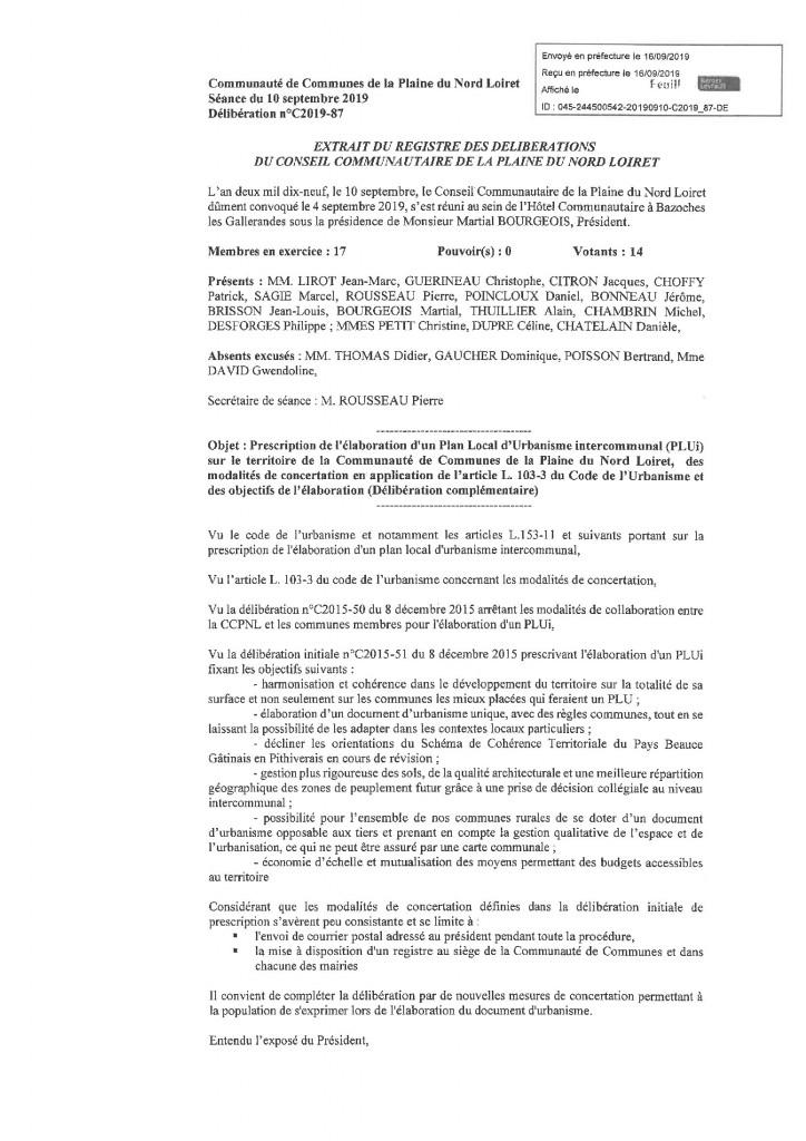 Delib C2019_87 PLUi modalité de concertation 1