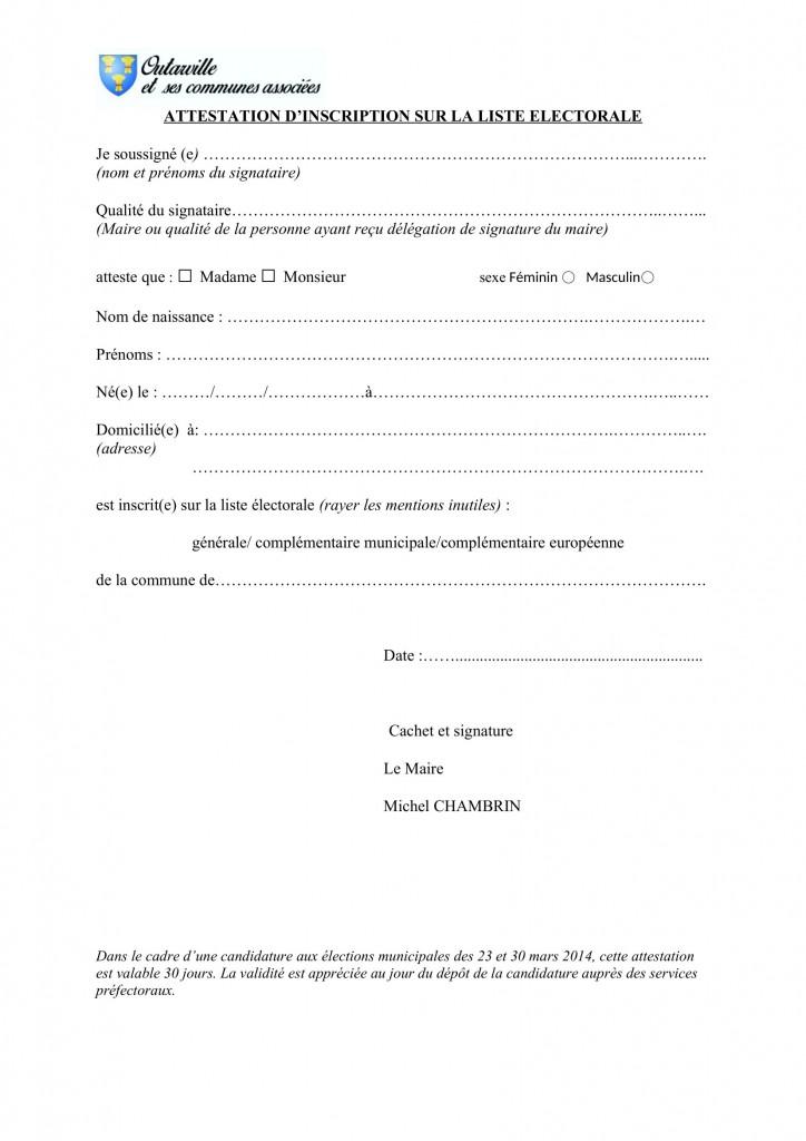 attestation inscription listes electorales (1)