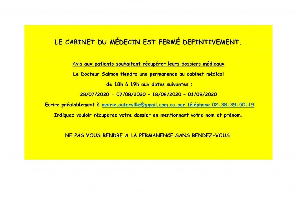 LE CABINET DU MÉDECIN (4)