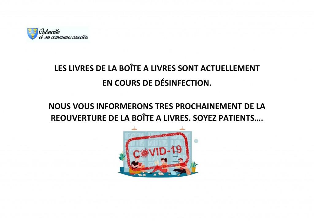 LES LIVRES DE LA BOÎTE A LIVRES SONT ACTUELLEMENT_0001
