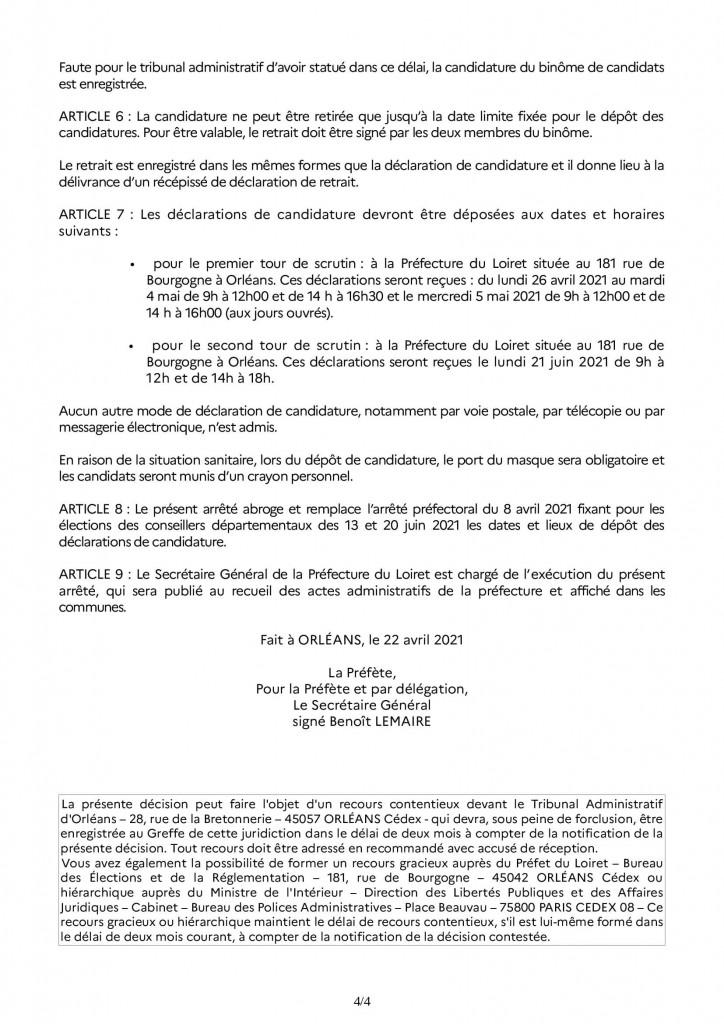 Arrêté_dépot_candidature_départementales 2021 RAA_00004