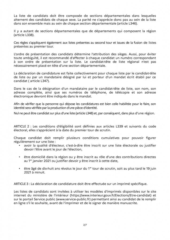 arrêté_dépot_candidature_régionales 2021 RAA_00002