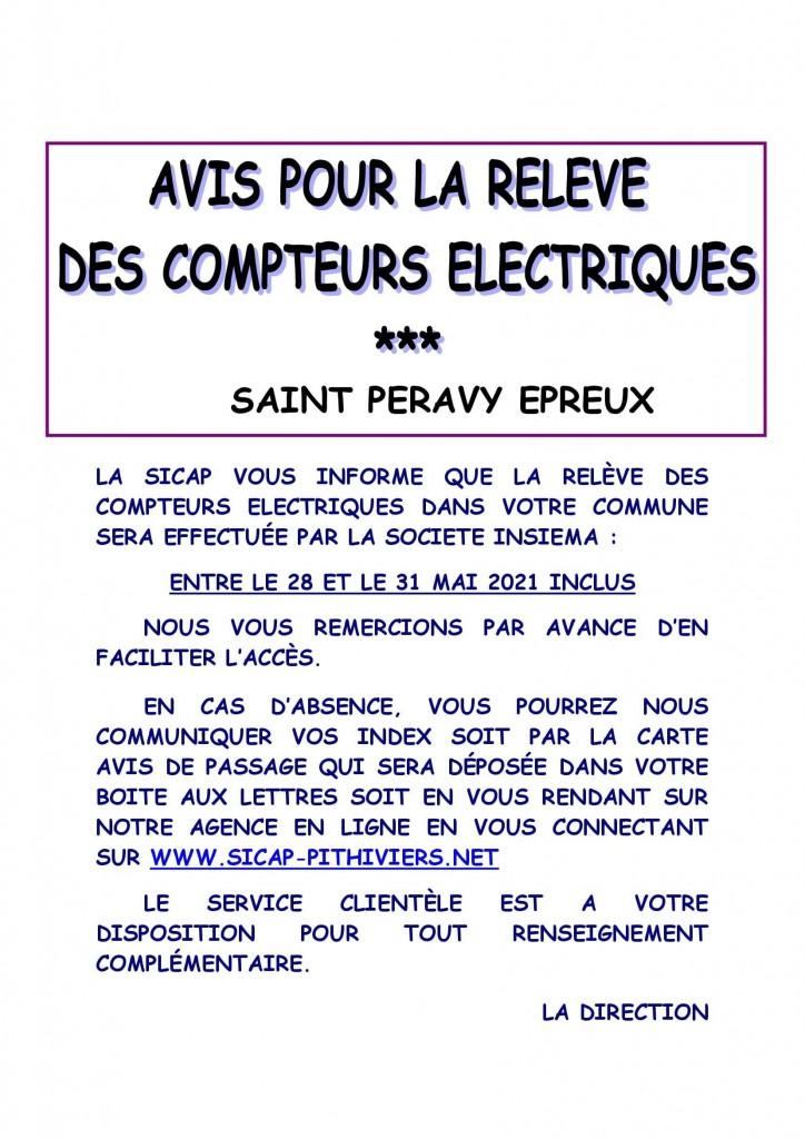 Affiche info relève SAINT PERAVY EPREUX (1)