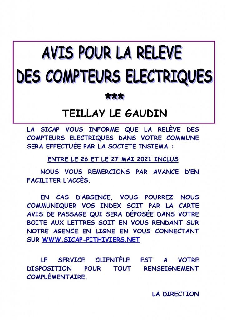 Affiche info relève TEILLAY LE GAUDIN (1)